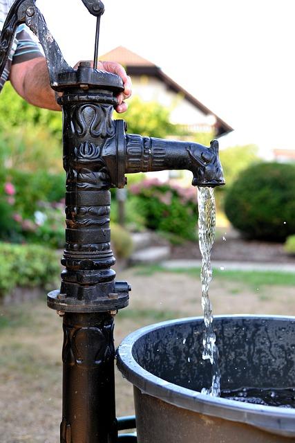 Verschillende soorten waterpompen